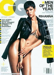 Rihanna on the cover page of GQ Magazine