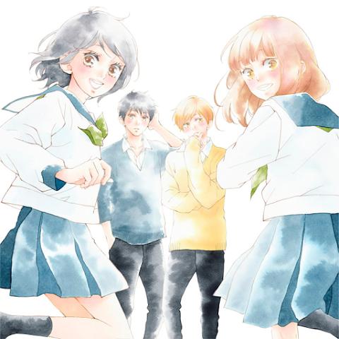 """""""Amarsi, lasciarsi"""" di Io Sakisaka: film anime e film live action per il 2020"""