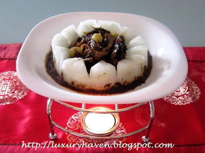 cny reunion dinner winter melon treasures recipe