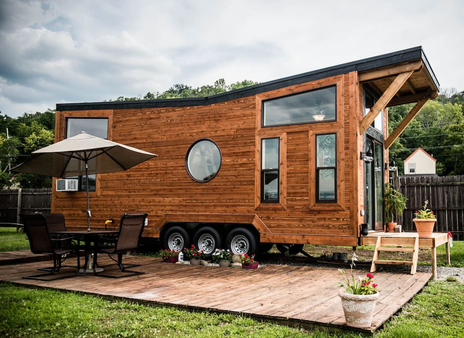 Tiny house town the industrial from wheel life tiny homes for 4 bedroom tiny house on wheels