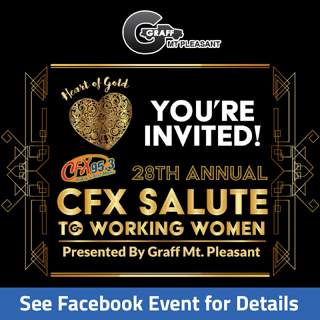 28th Annual CFX Salute to Working Women by CFX Sponsored by Graff Mt. Pleasant