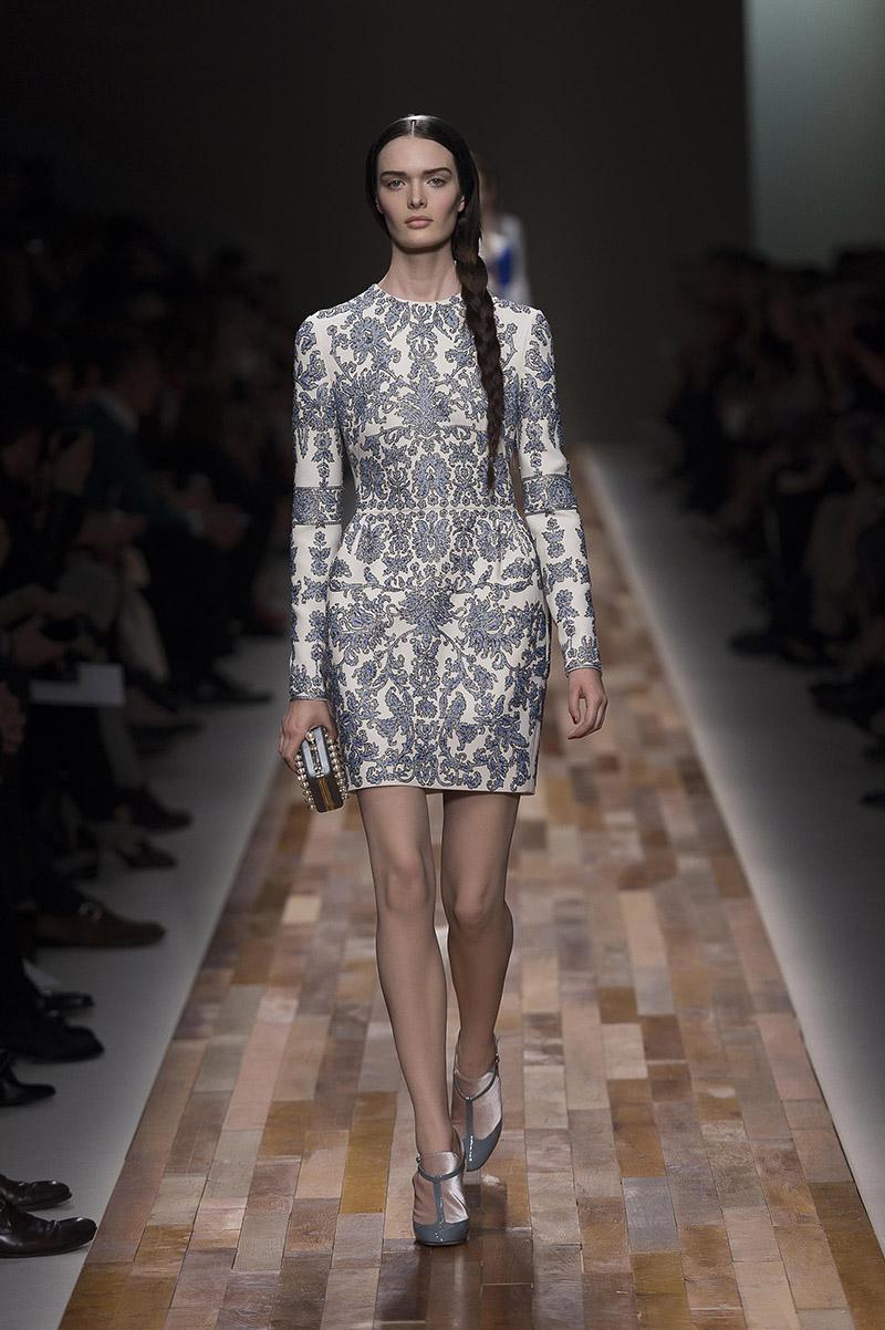 Dressing In Delft Valentino S New Women S Dresses Take