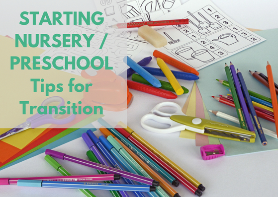 Starting Nursery Preschool Books And Tips To Help With Transition