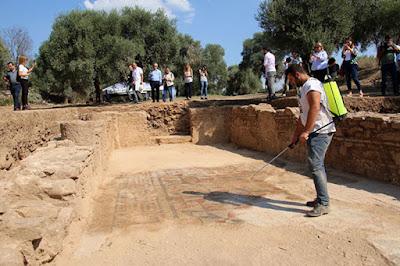 Μωσαϊκό δάπεδο ανακαλύφθηκε στην αρχαία Νύσα της Μ. Ασίας