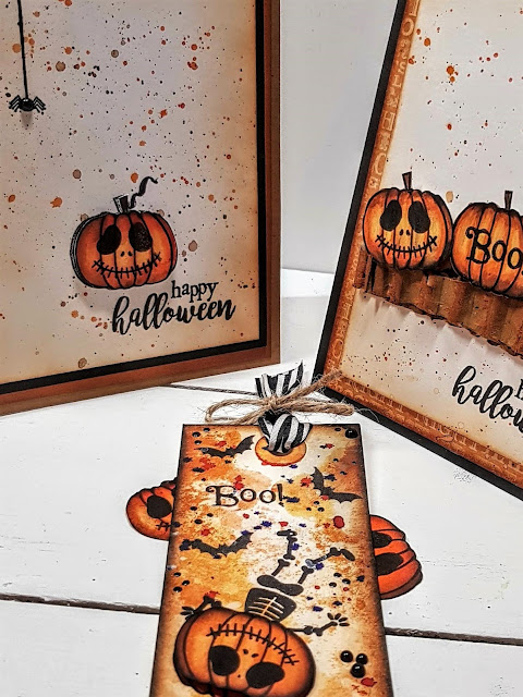 'Spooky'licious Halloween Stamping