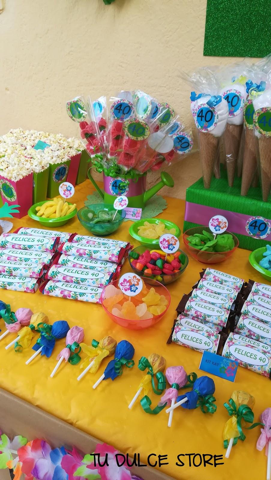 Fiesta Hawaiana En Infantil Decorado