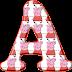 Alfabeto de Peppa Pig en Rojo.