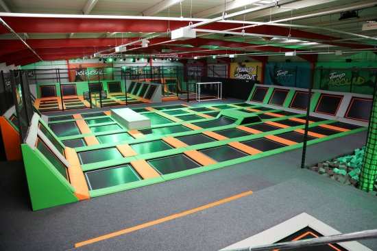 Jump 360 indoor trampoline park Newcastle the trampolines
