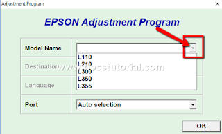 Cara Mengatasi Error Printer Epson L110, L201, L300, L355 yang tidak mau print