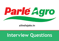 Parle Agro Interview Questions