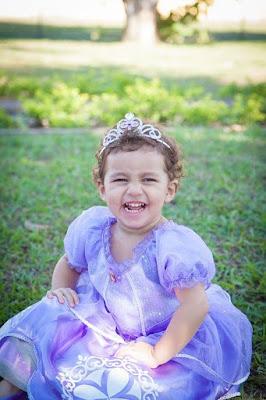 Vestido princesinha Sofia