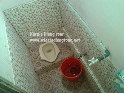 kamar mandi penginapan siti hinggil