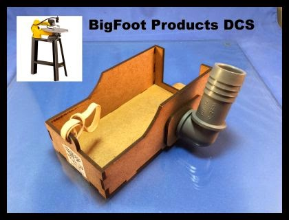 Scrollsaw Workshop: BigFoot Products DCS Review  Dust
