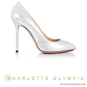Princess Sofia wore CHARLOTTE OLYMPIA Pumps