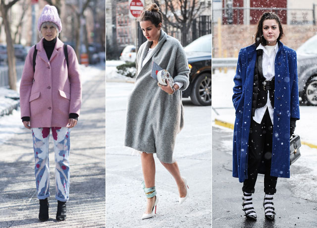 new york fashion week winter street style