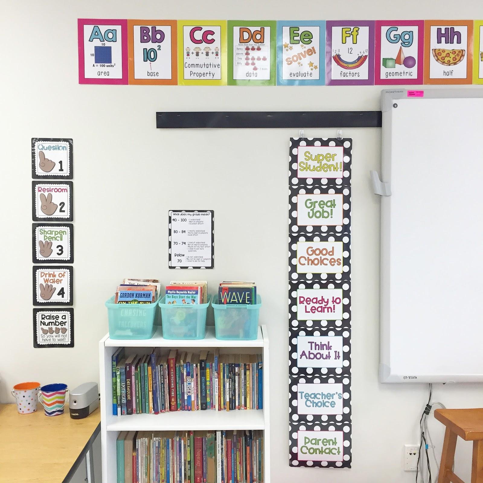 Neon Classroom Decor : Little lovely leaders neon bright rainbow classroom decor