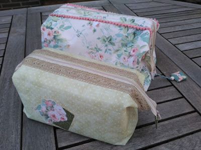 costura, couture, sewing, boxy bag, retreat bag, cosmetique pochette, bolsa aseo, bolsa maquillaje, tela vintage, little french house
