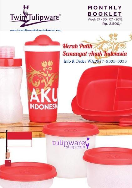 Booklet - Katalog Twin Tulipware Juli 2018 Merdeka