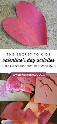 valentine's day activities for kids (that aren't buying something