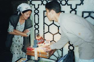 Matéria do blog 'lugares de memória' sobre Samarcanda - foto Sylvia Leite