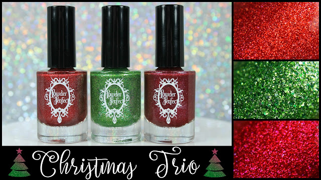 Powder Perfect Christmas Trio