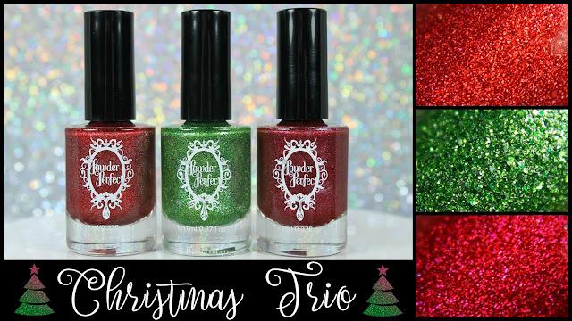 Powder Perfect Christmas Trio