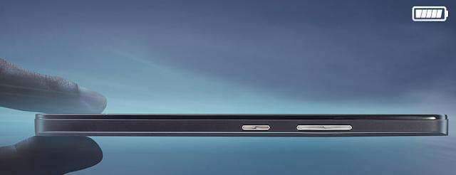 Tebal Lenovo A700 hanya 7,99mm
