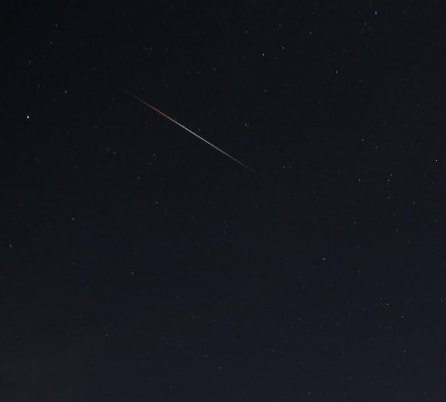 chuva de meteoros Draconidas