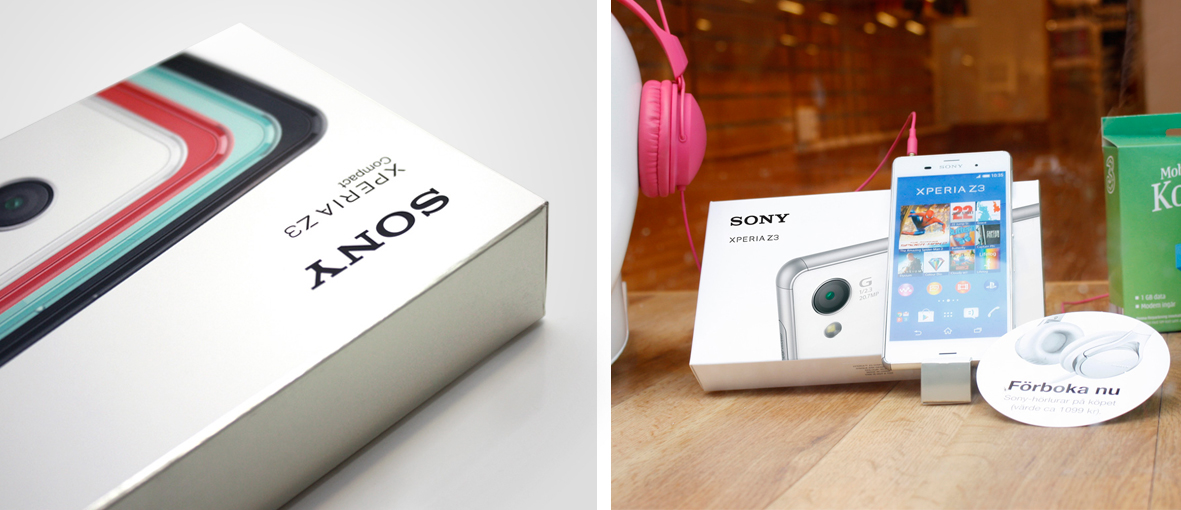 Sony Xperia Z3 (Concept) on Packaging of the World ...