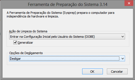 Entrar na configuração inicial pelo usuario do sistema (oobe)
