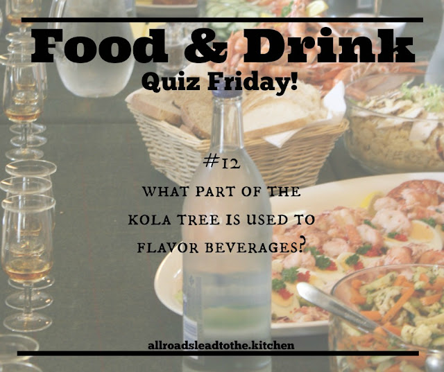 Food & Drink Quiz Friday #12