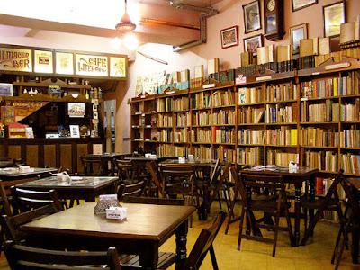 Libros, leer... para qué, café literario, compartir