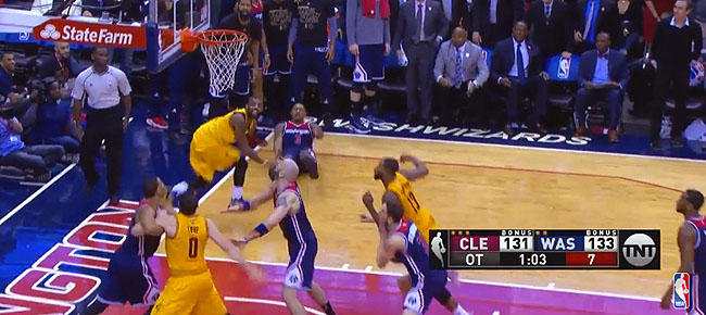 HIGHLIGHTS: EPIC Finish from the Cavs-Wizards OT Thriller (VIDEO)