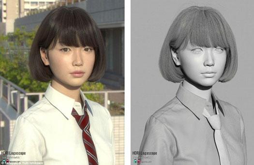 Teruyuki and Yuki Ishikawa Wanita Jepang ini Ada namun Tak Pernah Diciptakan