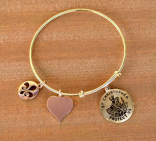 Hand-Crafted Jewelry From M Ference & Co.'s Timeless Engravings charm bracelet