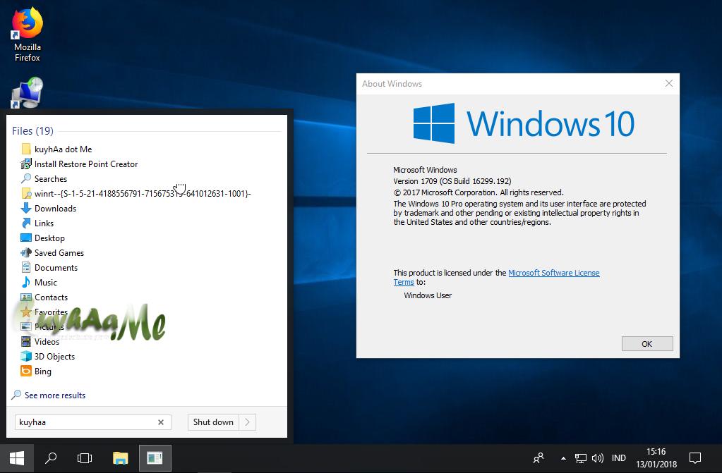 Windows lite Pro