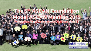 Fully Funded: The 5th ASEAN Foundation Model ASEAN Meeting 2019