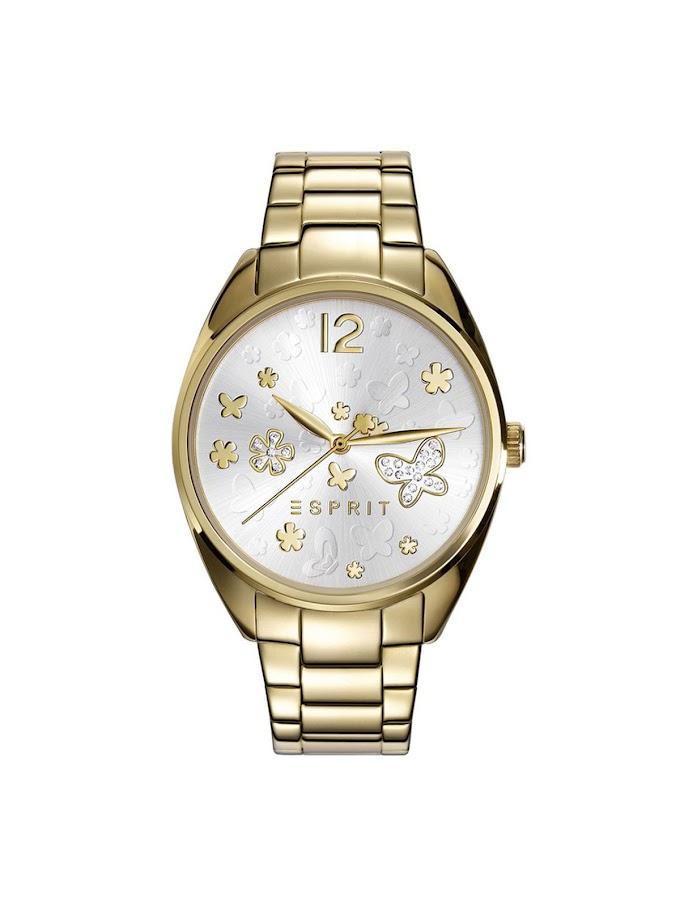 -50% reducere  Ceas femei auriu elegant Esprit Secret Garden ES108922002