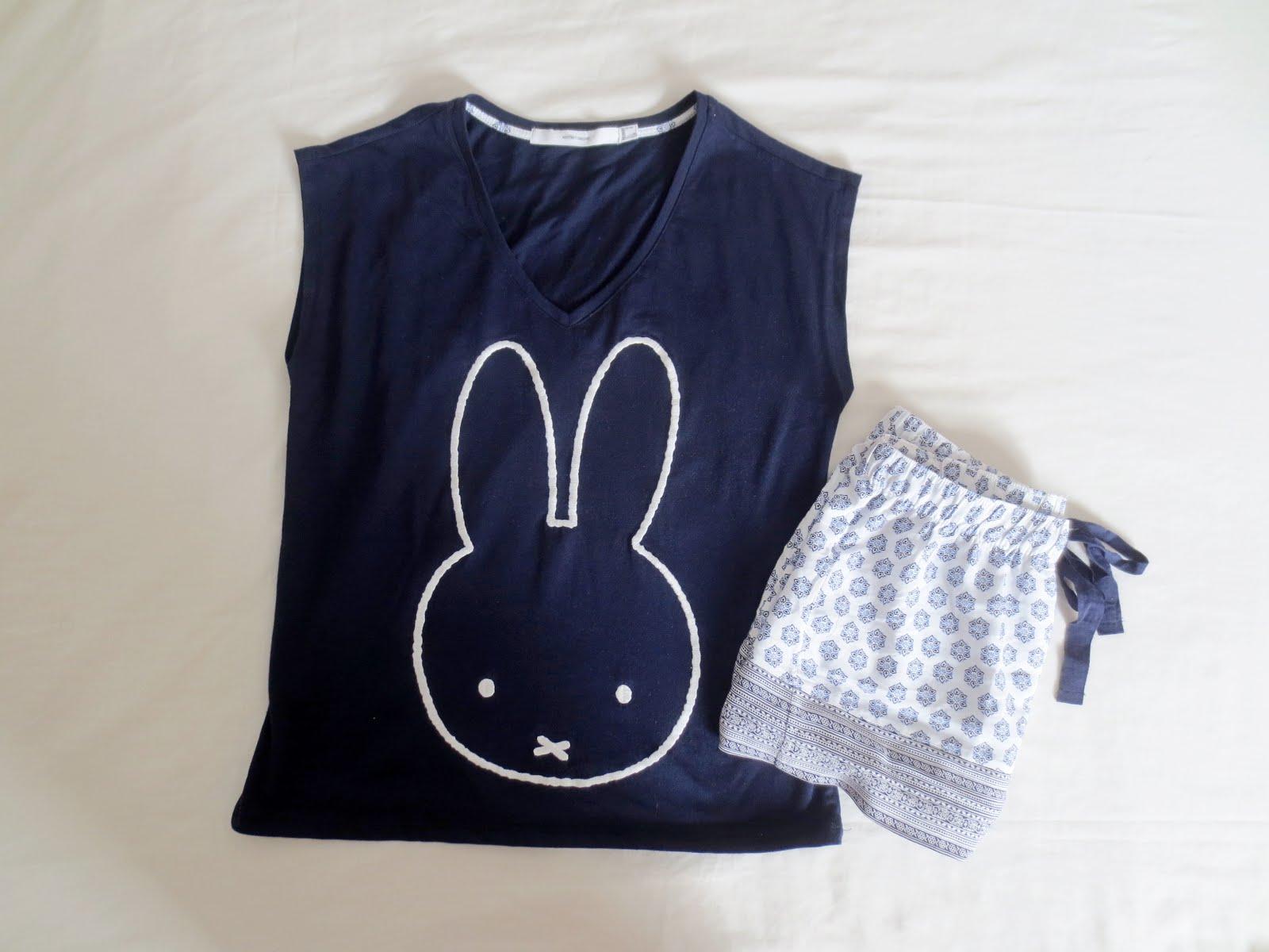 pijama oysho conejo