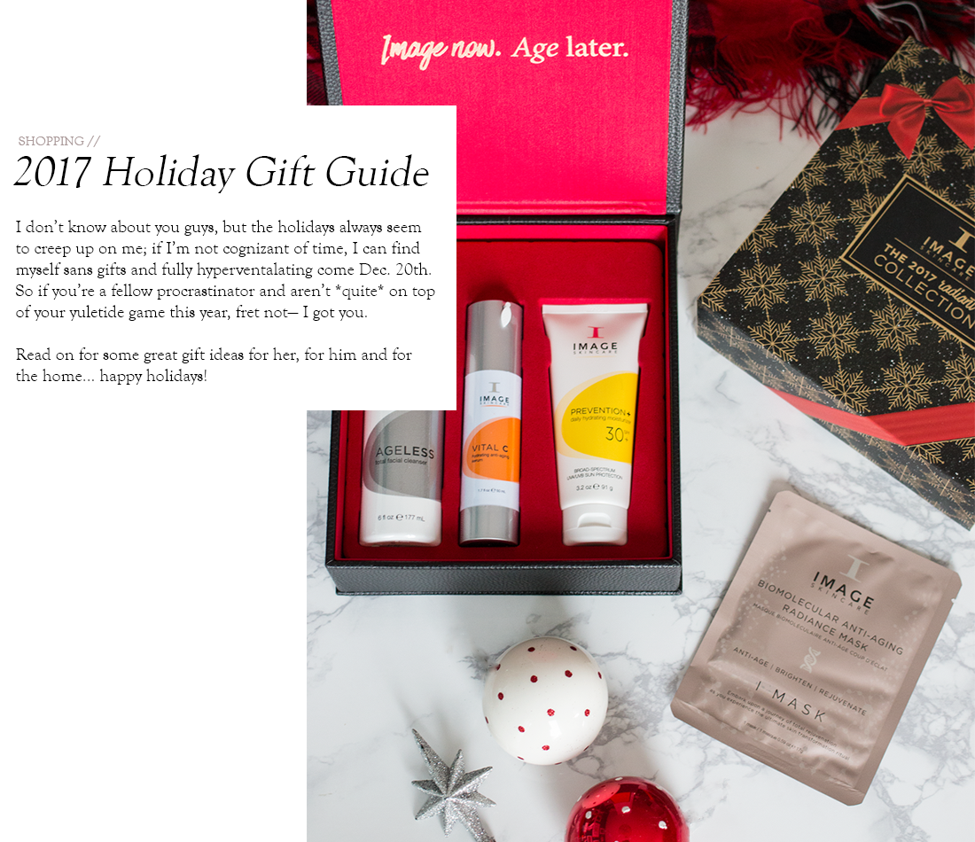 Holiday Gift Ideas for Her, for Him, and for the Home