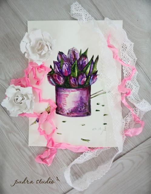 akvarelė, piešiniai, dovanos