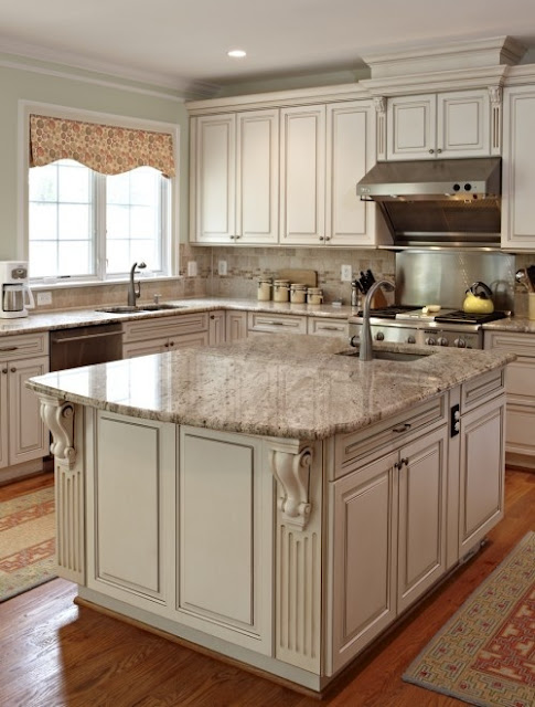 How to paint antique white kitchen cabinets step by step for 7 x 9 kitchen cabinets