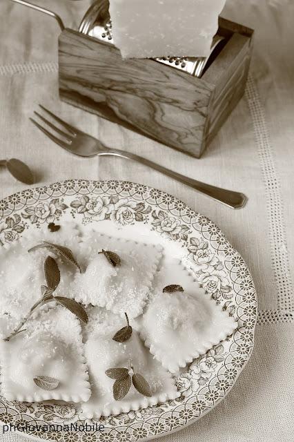 Agnolotti alla piemontese con prosciutto cotto Lenti