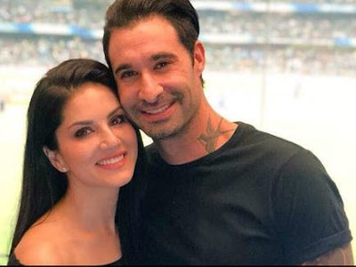Sunny Leone's and Daniels celebrates with Dance 18 million followers on Instagram