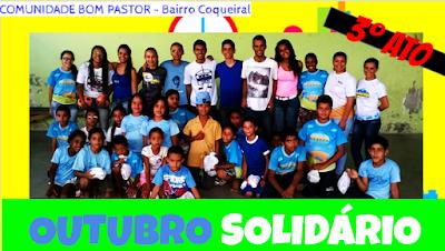 Resultado de imagem para outubro solidário cor jovem