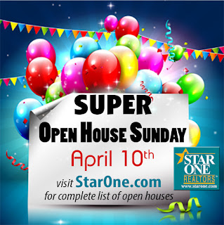 SuperOpenSunday FB%2Bgraphic - Star One Realtors' are holding Super Open House Sunday, April 10