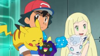 Pokémon Sol y Luna Ultra Aventuras Capitulo 1 Temporada 21 Un encuentro de ensueño