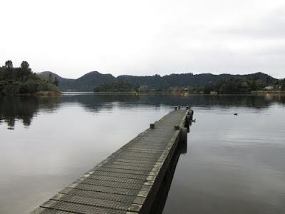 Lago Okareka, Nueva Zelanda
