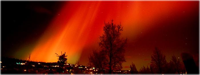 mistério dos céus avermelhados
