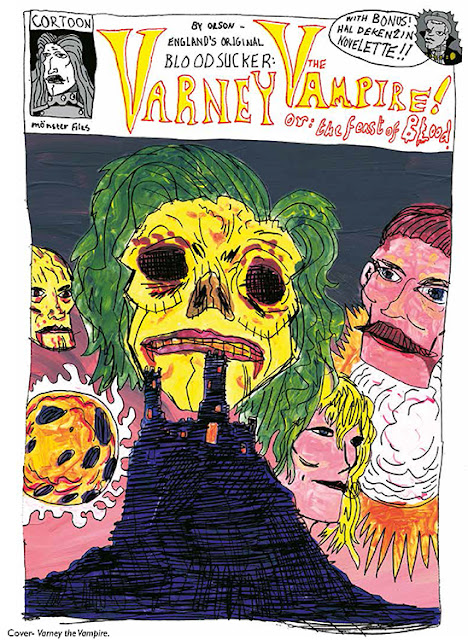 Varney Comic Cover